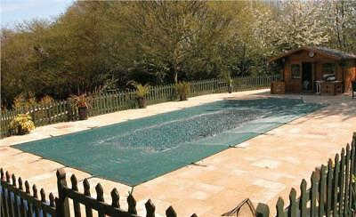 SWIMMING POOL WINTER COVER - 12ft X 24ft MAPLE NON CRISS CROSS WINTER COVER • 375£