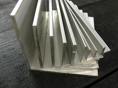 £2.12 • Buy ALUMINIUM ANGLE X 500mm Lengths All Sizes From 1/2  To 4  Available Equal Angle