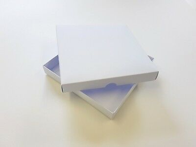 7  X 7  Greeting Card Boxes, Gift Boxes White Boxboard. Free Delivery • 12£