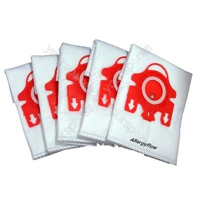 Pack Of 5 Miele S381 Microfibre Vacuum Cleaner Dust Bags • 6.99£