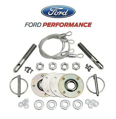 $42.50 • Buy 1979-2004 Genuine Ford Racing FRPP Mustang Hood Latch & Pin Kit M-16700-A