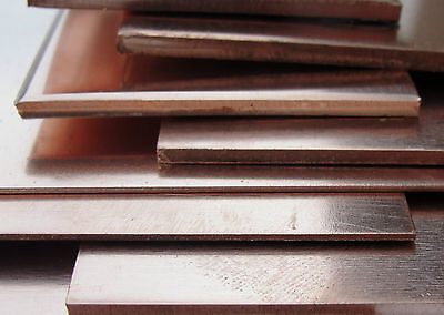 £9.65 • Buy COPPER SHEET Metal Plate 300 X 100mm Guage 0.5mm - 3.0mm Thick