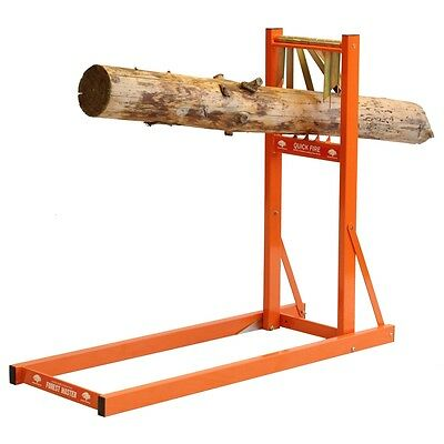 £96.90 • Buy QUICK FIRE SAW HORSE WOOD HOLDER CHAINSAW CUTTING FAST LOADING Qsh