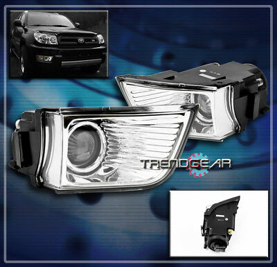 $51.95 • Buy For 2003 2004 2005 Toyota 4runner Bumper Driving Projector Fog Light Lamp Clear