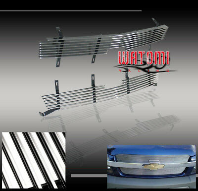 $51.95 • Buy 03-05 Chevy Silverado 1500/2500/3500/avalanche Front Upper Billet Grille 04 06