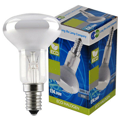 £8.99 • Buy R50 Reflector Halogen Energy Saving Light Bulb Dimmable E14 - 28w Or 42w