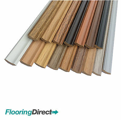LAMINATE FLOOR SCOTIA EDGING BEADING 2.4m LENGTHS AVAILABLE IN 30 COLOURS CHEAP! • 1.29£