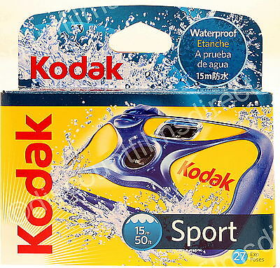 £16.50 • Buy Kodak Sport Underwater - Waterproof DISPOSABLE 35mm Camera - BY 1st CLASS POST
