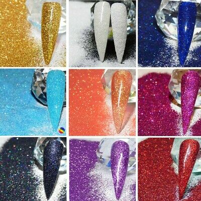 Nail Art Glitter Craft Glitter 008 Ultra Fine Xmas Glitter Mixes 💛❤️ • 3.20£