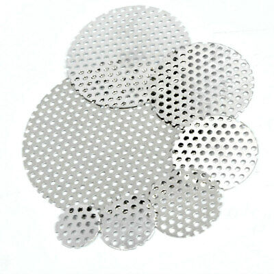 £4.18 • Buy Aluminium PERFORATED DISCS Vents Filters - Sheet Metal 3mm Ø Hole 5mm Pitch