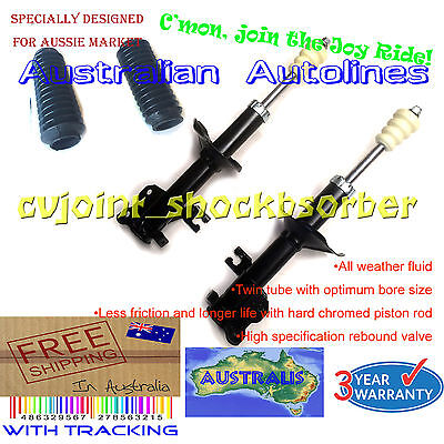 AU180 • Buy 2 Front Struts Nissan Pulsar N15 With ABS Brake New Shock Absorbers 8/97-2/98