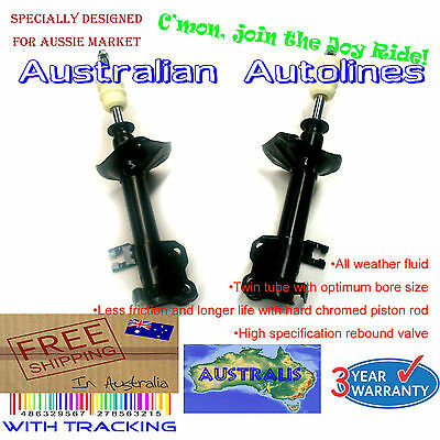 AU180 • Buy 2 Struts Nissan Pulsar N15 Non ABS Front Shock Absorbers 97-98 With Dust Cover