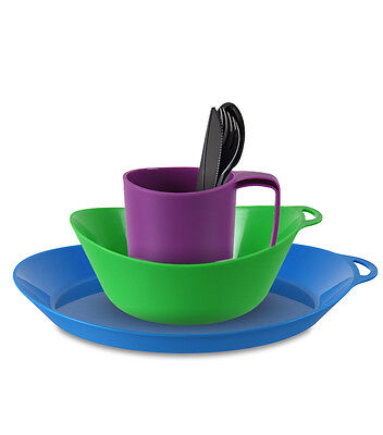 £3.79 • Buy Lifeventure Ellipse - Camping Mug, Plate, Bowl, Cutlery - 4 Colours  Mix & Match