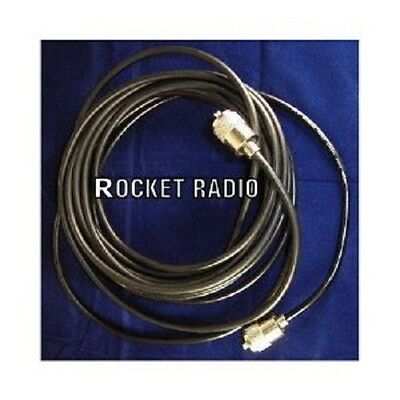 £14.95 • Buy CB Radio Antenna Coax RG58 49FT 15M With Soldered On PL259 Plugs