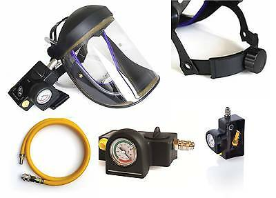 £165.25 • Buy CRUSADER Lite Type-R, AIR FED VISOR, Airfed Paint Spray,with Ratchet Head-band
