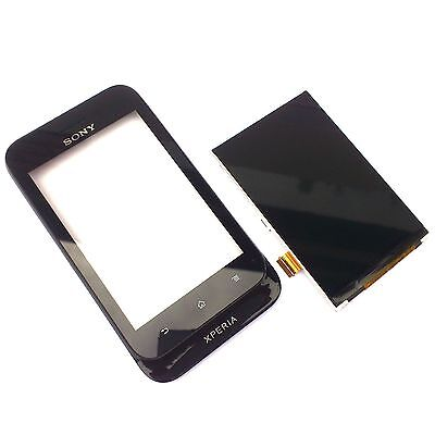 £14.99 • Buy 100% Genuine Sony Xperia Tipo ST21i Front+digitizer Touch Screen+LCD Display Bla