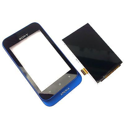 £9.99 • Buy 100% Genuine Sony Xperia Tipo ST21i Front+digitizer Touch Screen+LCD Display Blu