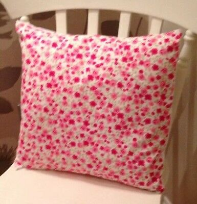 £6.50 • Buy Clarke And Clarke Shabby Chic Pink Ditsy Rose Floral 16  Cushion Cover
