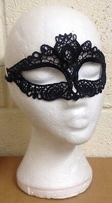 £1.79 • Buy Black Venetian Masquerade Mask Halloween Party Sexy Lace Fancy Dress - Shaped