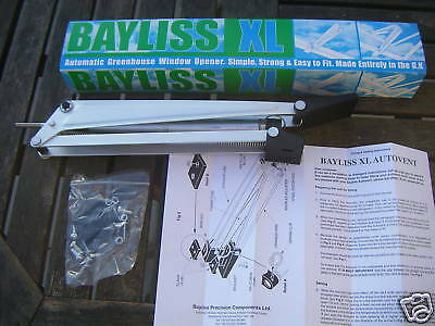 3 X Bayliss XL Autovent Automatic Greenhouse Window Roof Vent Opener Auto Vent   • 65.95£