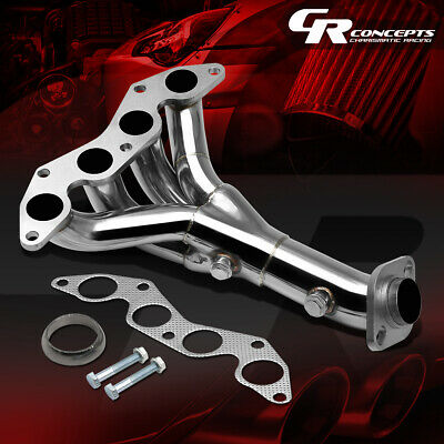 $56.88 • Buy For 01-05 Honda Civic Dx/lx 1.7 D17 Stainless Exhasut Manifold 4-1 Header+gasket