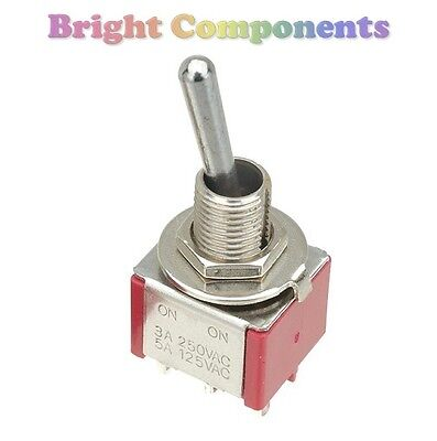 DPDT Toggle Switch (General Purpose) - 1st CLASS POST • 2.54£