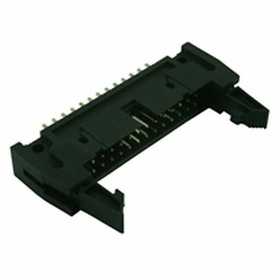 IDC Straight Latched PCB Plug Connector 34 Way (2 Pack) • 1.70£