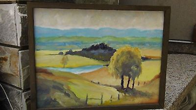 $ CDN485.39 • Buy Esther Potter (listed Artist, Australia)landscape Oil Painting W/tree On Board.