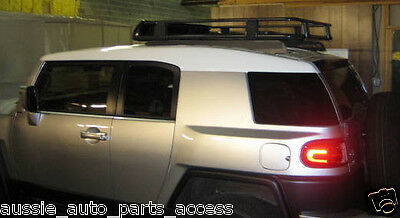 AU499 • Buy Tradesman Style Open Ends Steel Roof Rack For Back 1350mm For TOYOTA FJ Cruiser