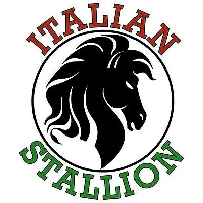 £12.71 • Buy Italian Stallion T Shirt You Choose Style, Size, Color Up To 4XL 10346