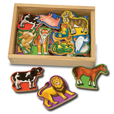 Melissa & Doug Magnetic Wooden Animals • 11.80£