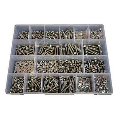 AU120 • Buy Kit Size 1300 Hex Bolt M5 M6 M8 Stainless Steel G304 Screw Nut Washer #277