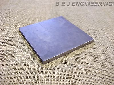 £9.50 • Buy Black Steel Square Plate 150mm X 150mm X 10mm  Fixing-Mounting  - Mild Steel