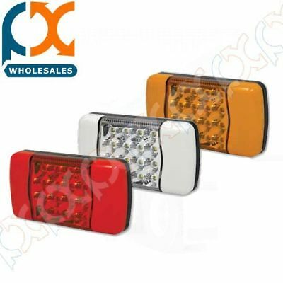 AU241 • Buy 2 X Whitevision Led Rear Tail Light Kit Truck 4x4 4wd Bus Trailer Hella Narva