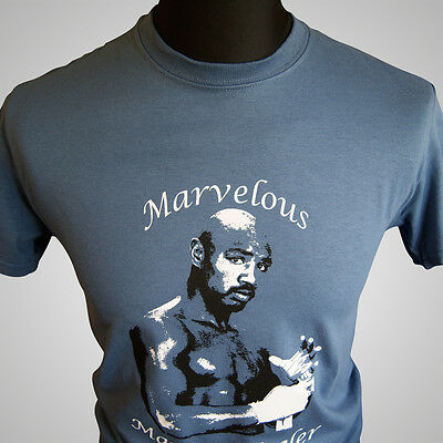 £11.99 • Buy Marvelous Marvin Hagler T Shirt Retro Boxing Middleweight Champion 80's Cool