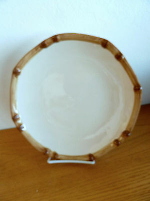 $14.39 • Buy Home Trends West Palm Tree Design Stoneware   1 Dinner  Plate  11