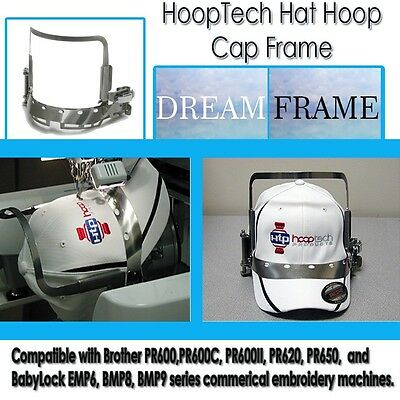 £251.02 • Buy  Embroidery Machine Hat Hoop Cap Frame - Dream Frame For Brother  PR600's