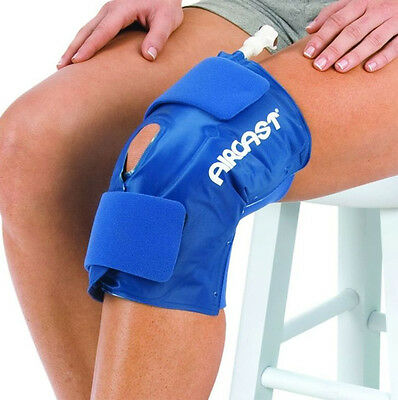 £59.95 • Buy Aircast Knee Cryo Cuff Wrap Hot Cold Therapy Compression Ice Pack Cryotherapy