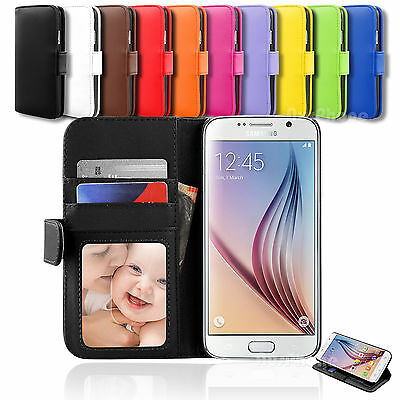 AU6.99 • Buy Galaxy S5 Case Card Flip Leather Stand Wallet Cover For Samsung
