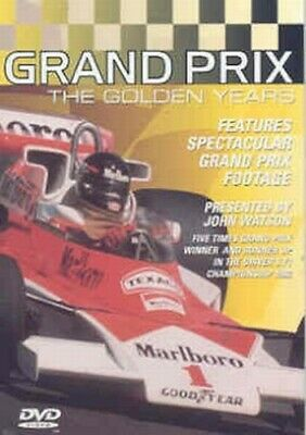 Grand Prix: The Golden Years DVD (1999) Graham Hill Cert E Fast And FREE P & P • 2.22£