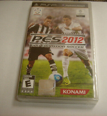 AU22.54 • Buy Pro Evolution Soccer 2012  (PlayStation Portable, 2011) New Psp