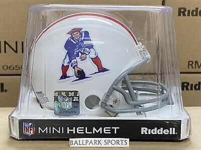 $25.99 • Buy NEW ENGLAND PATRIOTS (1965-81 Throwback) Riddell VSR4 Mini Helmet