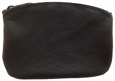 $11.50 • Buy New Mens Or Womens Leather Zippered Coin Pouch / Purse / Change Holder USA Made