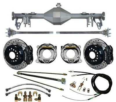 $2699.99 • Buy Currie 05-13 Mustang Rear End & Wilwood 12  Drilled Disc Brakes,lines,cable,axle