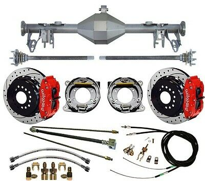 $3399.99 • Buy Currie 05-13 Mustang Rear End & Wilwood 13  Drilled Disc Brakes,red Calipers,etc