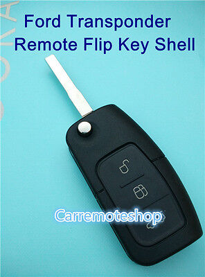 AU12.25 • Buy Ford Transponder Remote Flip Key For FG BF Falcon XT XR6 XR8 Focus Territory