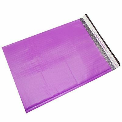 $ CDN201.31 • Buy 200 #5 ( Purple ) Poly Bubble Mailers Envelopes Bags 10.5x16  Colors Stand Out