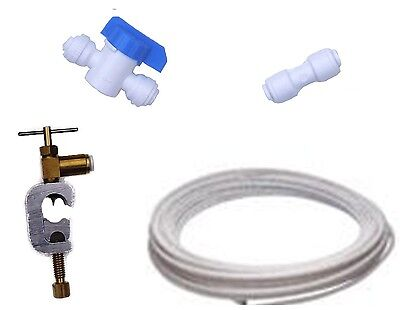 £11.95 • Buy American Fridge Water Filter Plumbing Fitting Connection Kit Pipe Tap Connector