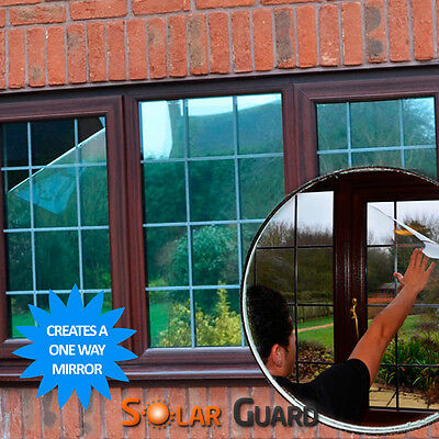 Reflective Window Film - Solar Control & One Way Mirror Privacy Glass Tint • 1.20£