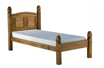 £109.99 • Buy Corona Bed Frame 3ft Single Low End Bedroom Solid Pine By Mercers Furniture®
